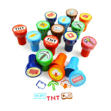Load image into Gallery viewer, TINYMILLS 24 Pcs Pixel Miner Stampers for Kids