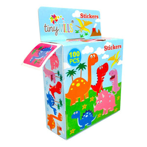 Dinosaur Stickers 100 Stickers/Dispenser, Pack of 12 Dispensers $ 12.99 Tiny Mills®
