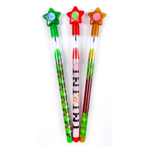 Pixels Mine Crafter Themed Multi Point Pencils - 24 Pcs