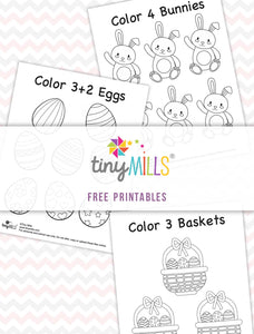 Free Printable Easter Preschool Math Worksheets - 8 Designs