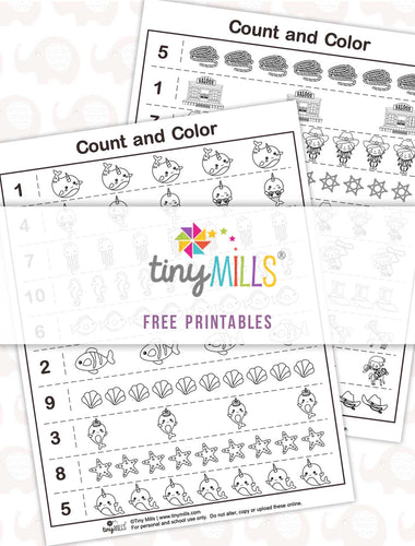 Free Printable Preschool Math Worksheets - 10 Designs