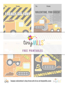 Free Printable Valentine's Day Cards - Constructions