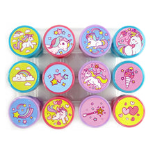 Load image into Gallery viewer, Unicorn Stamp Kit for Kids - 12 Pcs