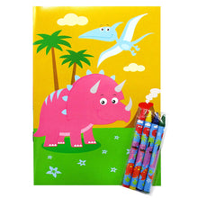 Dinosaurs Coloring Books - Set of 6 or 12 - Coloring Books | Tiny Mills®