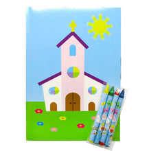 Religious Coloring Books - Set of 6 or 12 - Coloring Books | Tiny Mills®