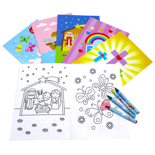 Religious Coloring Books $ 12.99 Tiny Mills®