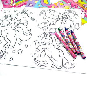 Unicorn Coloring Books - Set of 6 or 12 - Coloring Books | Tiny Mills®