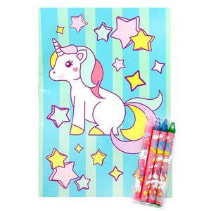Unicorn Coloring Books - Set of 6 or 12