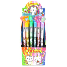 Load image into Gallery viewer, Unicorn Kitty Multi Point Pencils