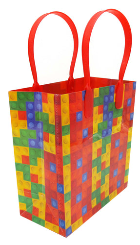 Building Blocks Brick Party Favor Bags Treat - 12 Bags