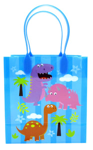 Dinosaur Party Favor Bags Treat Bags - 12 Bags - Paper Bags | Tiny Mills®