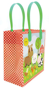 Barnyard Farm Animals Party Favor Treat Bags - 12 Bags $ 12.99 Tiny Mills®