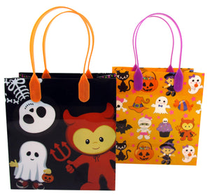 Halloween Party Favor Treat Bags - Set of 6 or 12