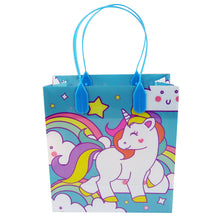 Load image into Gallery viewer, Unicorn Party Favor Bags Treat Bags - Set of 6 or 12
