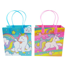 Load image into Gallery viewer, Unicorn Party Favor Bags Treat Bags - 12 Bags