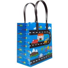 Load image into Gallery viewer, Cars Fire Trucks Transportation Party Favor Bags Treat Bags - Set of 6 or 12