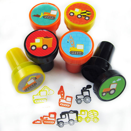 Construction Vehicles Stampers