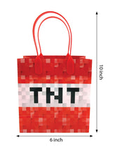 Pixels Miner Themed Party Favor Bags Treat Bags - 12 Bags $ 12.99 Tiny Mills®