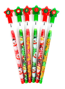 Christmas Multi Point Pencils