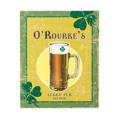 Personalized Irish Craft Beer Sign - PersonalizationPop Test Store