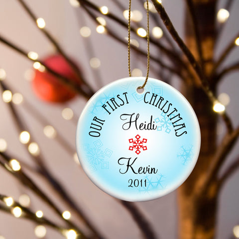 Our First Christmas Ornament - Style 7