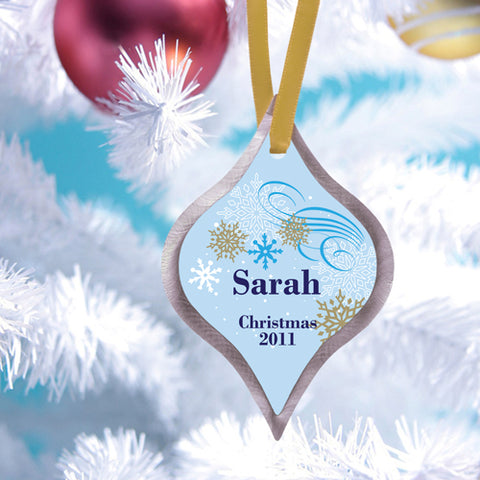 Christmas Ornament - Dazzling - PersonalizationPop Test Store