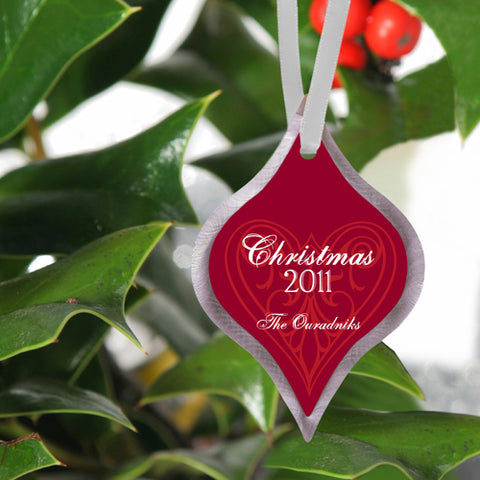 Christmas Ornament - Love - PersonalizationPop Test Store