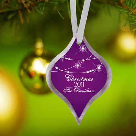 Christmas Ornament - Star - PersonalizationPop Test Store