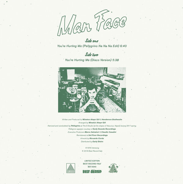Man Face ‎– You're Hurting Me - BST-X040