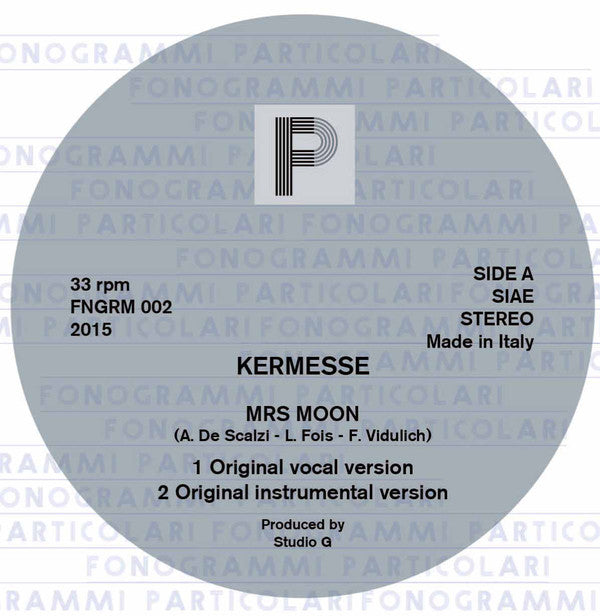 Kermesse ‎– Mrs Moon