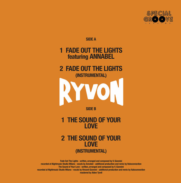 Fade Out The Lights - RYVON