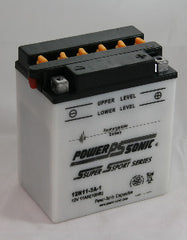 12N11-3A-1 Default, POWERSPORTS - Powersonic, Battery Wholesale Inc