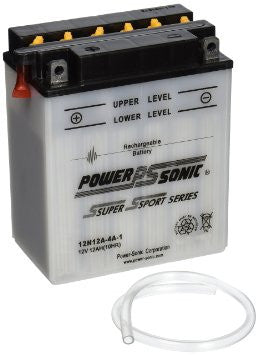 PowerSonic 12N12A-4A-1 Powersport Conventional Battery - GetMyBattery.com