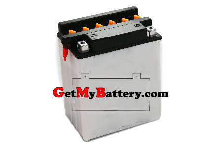 PowerSonic 12N14-3A Powersport Conventional Replacement Battery - GetMyBattery.com