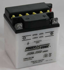 PowerSonic 12N5.5A-3B Powersport Conventional Battery, POWERSPORTS - GetMyBattery.com
