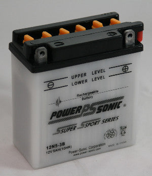 Powersonic 12N5-3B Powersport Conventional Battery - GetMyBattery.com
