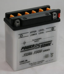 Powersonic 12N5-3B Powersport Conventional Battery, POWERSPORTS - GetMyBattery.com