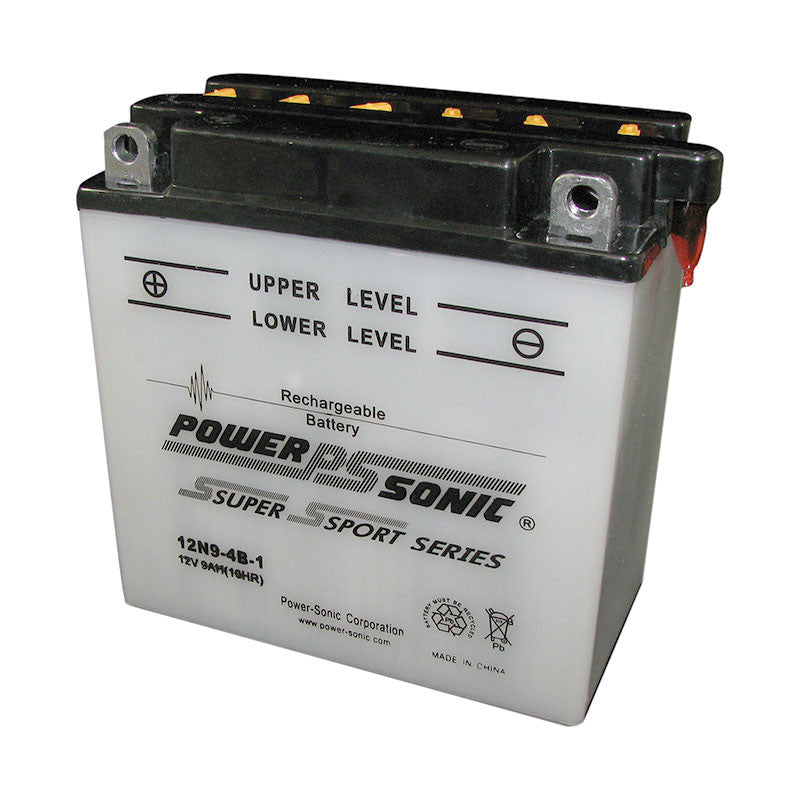Powersonic 12N9-4B-1 Powersport Conventional Battery - GetMyBattery.com
