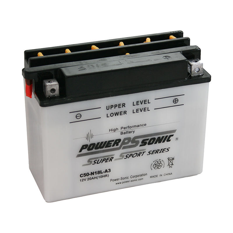 PowerSonic C50-N18L-A3 Powersport Battery Replacement for Y18-N18L-A - GetMyBattery.com