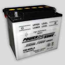 PowerSonic C60-N24-A Powersport Battery, POWERSPORTS - GetMyBattery.com