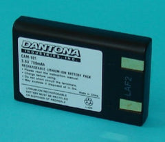 CAM-101 Default, Digital Camera Batteries - Dantona, Battery Wholesale Inc