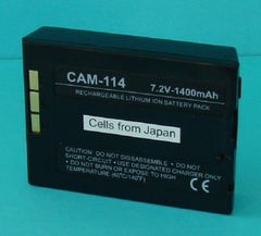 CAM-114 Default, Digital Camera Batteries - Dantona, Battery Wholesale Inc