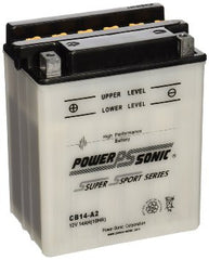 PowerSonic CB14-A2 Powersport Battery, Motorcycle - GetMyBattery.com