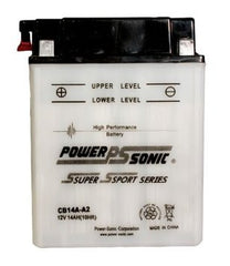 PowerSonic CB14A-A2 Powersport Battery Replacement for YB14A-A2, Motorcycle - GetMyBattery.com