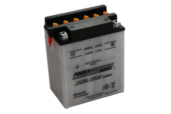 Power-Sonic CB14-A2 Conventional Powersport Battery