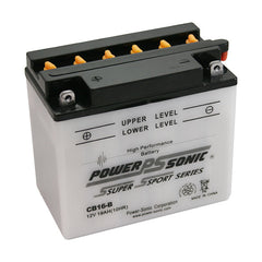 CB16-B , POWERSPORTS - Powersonic, Battery Wholesale Inc