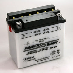 CB16B-A1 , Motorcycle - Powersonic, Battery Wholesale Inc
