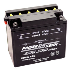 CB16HL-A-LM , POWERSPORTS - Powersonic, Battery Wholesale Inc