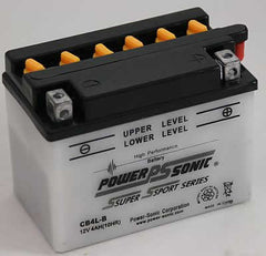 PowerSonic CB4L-B High Performance Battery Replacement for YB4L-B, POWERSPORTS - GetMyBattery.com