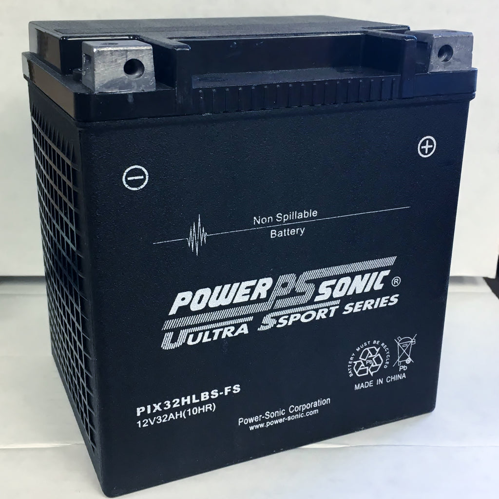 Power Sonic PIX32HLBS-FS High Performance AGM Ultra Sports Series Replacement BatteryBattery - GetMyBattery.com